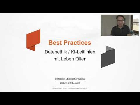 Best Practice KI & Datenethik – Christopher Koska